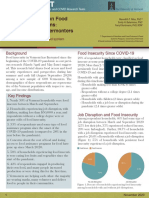 Food Insecurity and COVID - Vermont