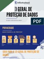 E-book Lei Geral de Proteção de Dados eSolution