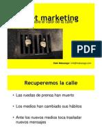 Curso de Street Marketing por Iñaki  Makazaga