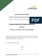 Plano Nacional de SO 2010-12