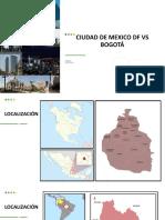 CIUDAD DE MEXICO DF VS BOGOTÁ