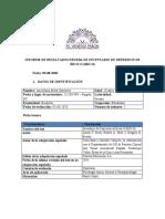 Informe BDI