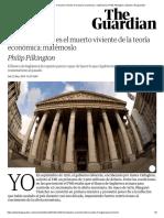 El monetarismo es el muerto viviente de la teoría económica_ matémoslo _ Philip Pilkington _ Opinión _ El guardián