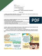 PLANO DE ESTUDOS-2º ANO-ATIVIDADES REMOTAS-  17 à 28.08-2