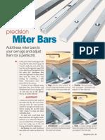 0000000085 precision Miter Bars