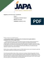 psicologia social y comunitaria TAREA 8.