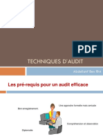 Techniques d'Audit