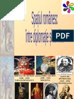 Spatiul Romanesc Intre Diplomatie Si Conflict
