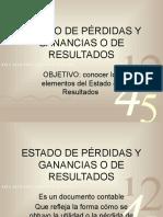 CLASE 10 ESTADO DE PÉRDIDAS Y GANANCIAS O DE RESULTADOS