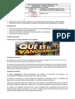 LITERATURA DEL VANGUARDISMO EN COLOMBIA pendiente