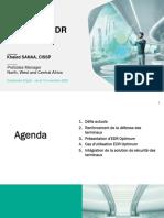 Khaled Sanaa - Automatisation Des Tâches, De La Détection Des Menaces Et de La Réponse à Incidents Avec l'EDR