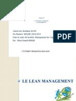 5-Les pratiques managériales - Lean Management.pptx