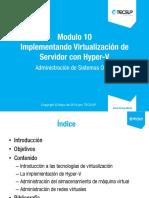 20410A_09 Implementando Virtualizacion de Servidor con Hyper-V