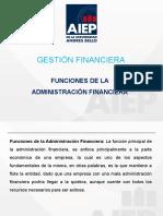 segunda Clases. gestion financiera funciones de la administracion financiera