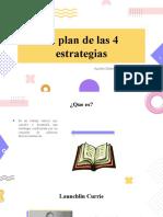 Plan 4 estrategias