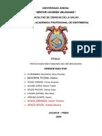 PRUPO N°1 Patologias del RN