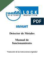 INSIGHT Metal Detectors - Operating Guide