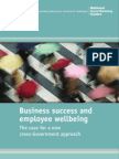 Business Success and Employee Wellbeing