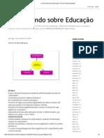 Conversando sobre Educação_ Teorias da Aprendizagem