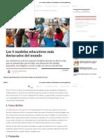 7. Los 9 Modelos Educativos Más Destacados Del MundoYoung Marketing