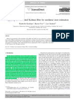 ++ Applying the unscented Kalman filter for nonlinear state estimation