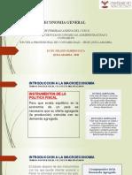 10.-Introduccion a la macroeconomia - Politica fiscal y el efecto multiplicador