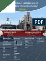 Horarios Basílica de Guadalupe 2020