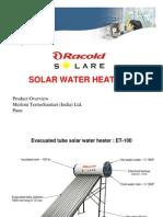 RACOLD SOLAR ETC.PRESENTATION