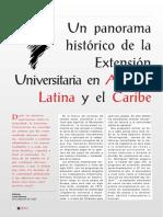 Panorama de la Extension America Latina