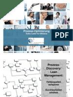 Prozess-Optimierung mit process discovery und Lean Management
