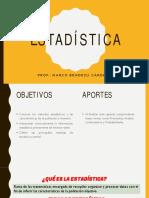 ESTADÍSTICA - 3RO