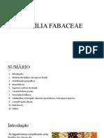 FAMÍLIADAS FABACEACEAE (LEGUMINOSAS)