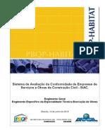 PBQP-H - REGIMENTO GERAL