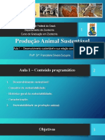 Sustentabilidade na produção animal
