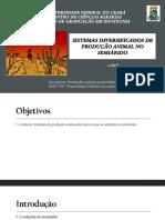 Sistemas diversificados de produção animal no semiárido