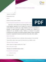 Plantilla #1- Unidad 3- Reto 4- Análisis de técnicas e instrumentos de investigación con las infancias- Diseño de un método de investigación