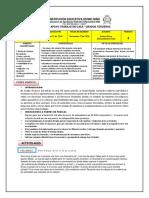 Plan de Apoyo de Matemáticas, grado 3,p4
