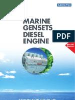 Daihatsu Gensets Diesel Engine