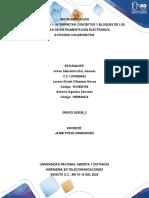 TAREA 1 CONSOLIDADO INDIVIDUAL AGUILERA Interpretar conceptos y bloques de los sistemas de instrumentación electrónica