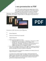 presentación en PDF