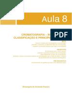 CROMATOGRAFIA INTRODUÇÃO, CLASSIFICAÇÃO E PRINCÍPIOS BÁSICOS.pdf