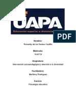 tarea 1 Intervención psicopedagógica y atención a la diversidad.docx
