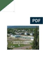 Contrato de Concesión Aguas de La Rioja