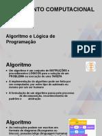 UNIVESP_ Pensamento Computacional  - Aula 4 - Raciocinio logico e algoritmos fim.pptx