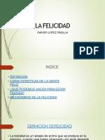 La Felicidad-FICHA 2185875