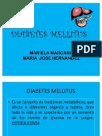 Mariela marcano diabetes
