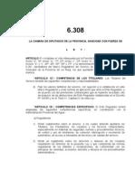 Ley 6308 Modificación del  Marco Regulatorio Servicios Sanitarios Provincia de La Rioja - Argentina