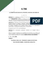 Ley 6786 creacion del Ente Unico de Control de Privatizaciones (EUCOP) 2