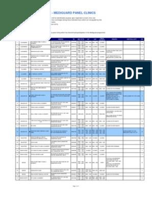 AIA Mediguard Panel Clinics (w TCM)[1] | Primary Care | Singapore