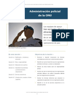 6.Administración policial ONU